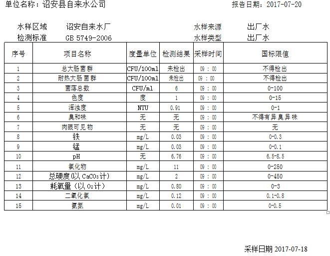【07-21晨读】诏安发布最新水质监测报告;教育局发布教师调动办法
